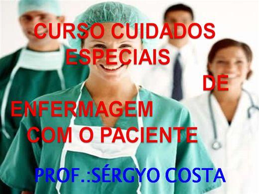 Curso Online de CURSO CUIDADOS ESPECIAIS DE  ENFERMAGEM   COM O PACIENTE.