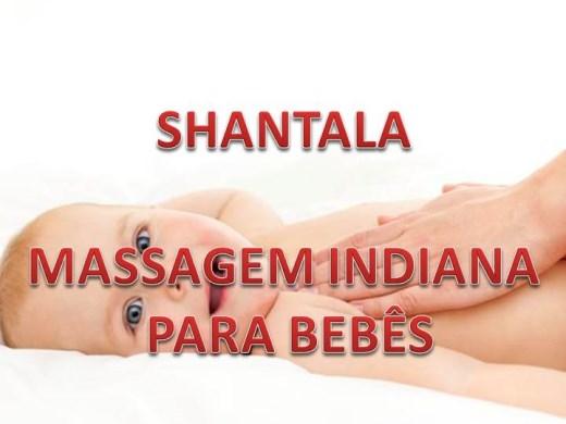 Curso Online de Shantala Massagem  Indiana Para Bebês
