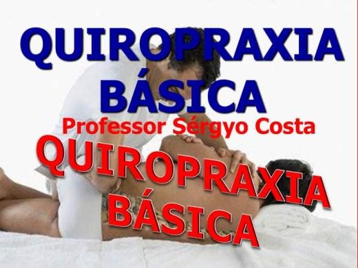 Curso Online de Quiropraxia Fundamental