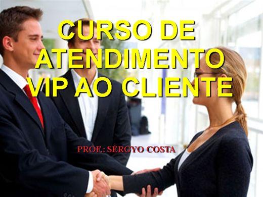 Curso Online de CURSO DE ATENDIMENTO VIP AO CLIENTE