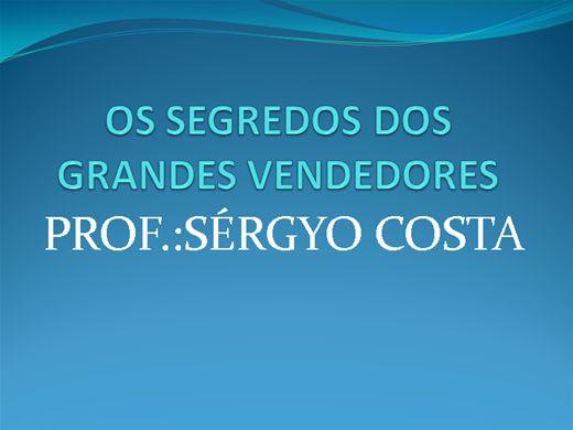 Curso Online de OS SEGREDOS DOS GRANDES VENDEDORES
