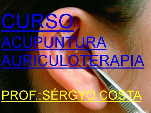 Curso Online de CURSO DE ACUPUNTURA-AURICULOTERAPIA