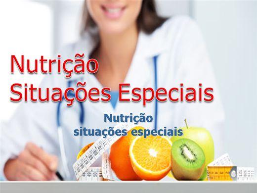 Curso Online de Nutrição Situações Especiais