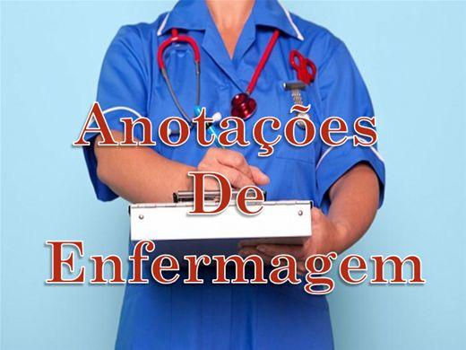Curso Online de Anotações De Enfermagem
