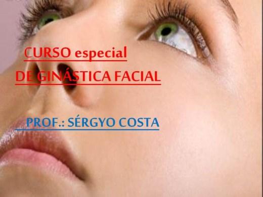 Curso Online de Curso Especial de Ginástica Facial
