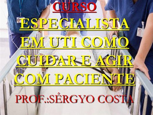 Curso Online de CURSO ESPECIALISTA EM UTI COMO CUIDAR E AGIR COM PACIENTE