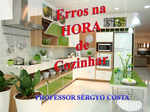 Curso Online de Erros Na Hora De  Cozinhar