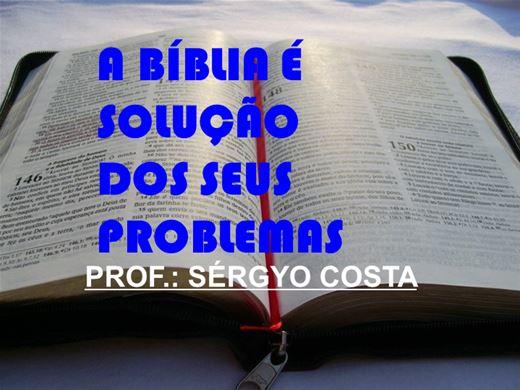 Curso Online de A BÍBLIA É SOLUÇÃO DOS SEUS PROBLEMAS