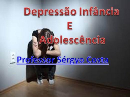 Curso Online de Depressão Infância  E  Adolescência