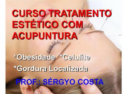 Curso Online de CURSO TRATAMENTO ESTÉTICO COM ACUPUNTURA