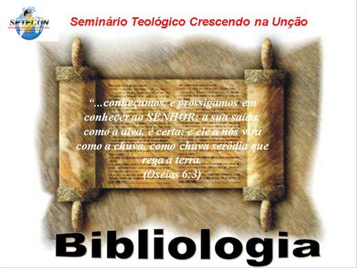 Curso Online de BIBLIOLOGIA II