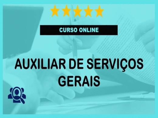 Curso Online de Auxiliar de Serviços Gerais