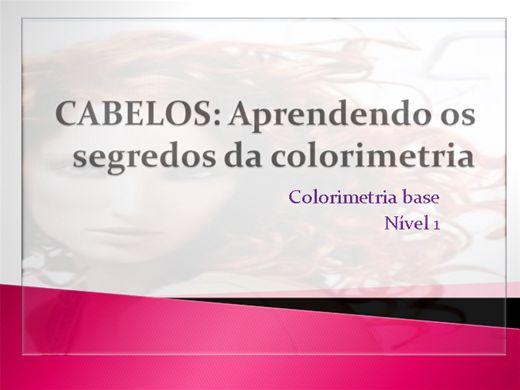 Curso Online de Cabelos:Aprendendo os segredos da colorimetria