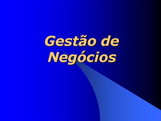 Curso Online de GESTÃO DE NEGOCIOS