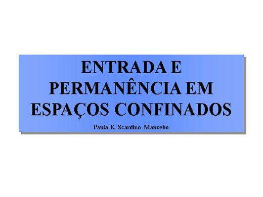 Curso Online de ESPAÇO CONFINADO