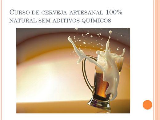 Curso de cerveja