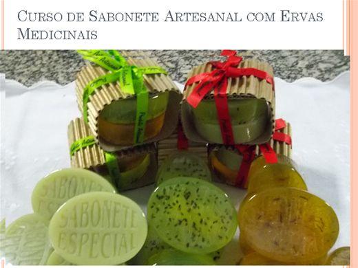 Curso Online de Cursos de  Sabonete Artesanal com Ervas