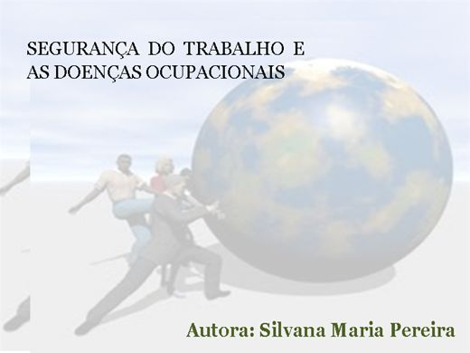 Curso Online de SEGURANÇA DO TRABALHO E AS DOENÇAS OCUPACIONAIS