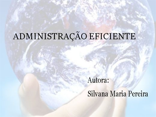 Curso Online de ADMIISTRAÇÃO EFICIENTE