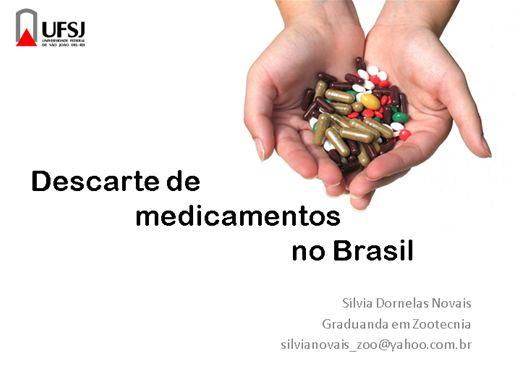 Curso Online de Descarte de Medicamentos no Brasil