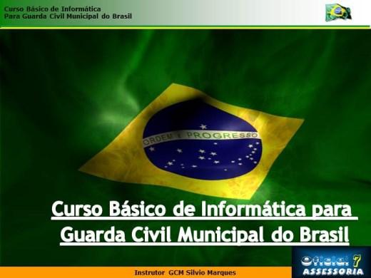 Curso Online de Curso Básico em Informática Para Guarda Civil Municipal do Brasil