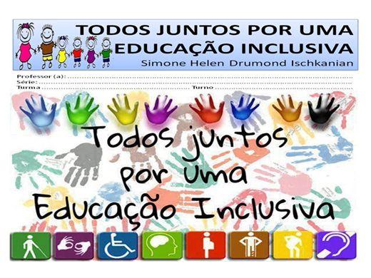 Curso Online de TODOS JUNTOS POR UMA EDUCAÇÃO INCLUSIVA