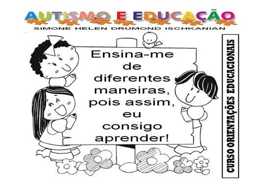 Curso Online de ORIENTAÇÕES EDUCACIONAIS SOBRE PESSOAS AUTISTAS