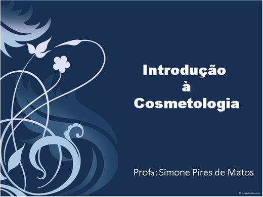 Curso Online de Introdução à Cosmetologia