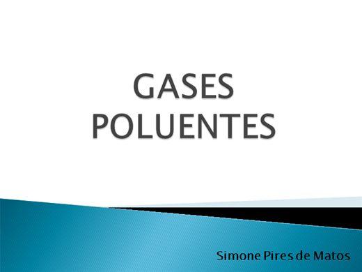 Curso Online de Consequências Climáticas dos Gases Poluentes