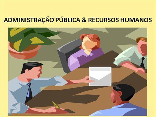 Curso Online de Administração Pública & Recursos Humanos