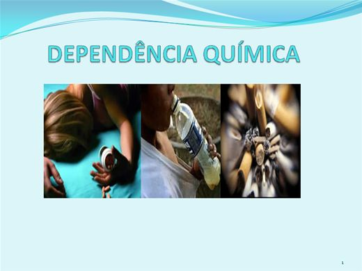 Curso Online de Dependência Química