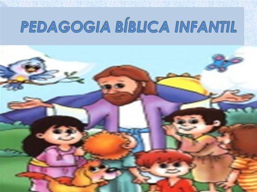 Curso Online de Pedagogia Bíblica Infantil