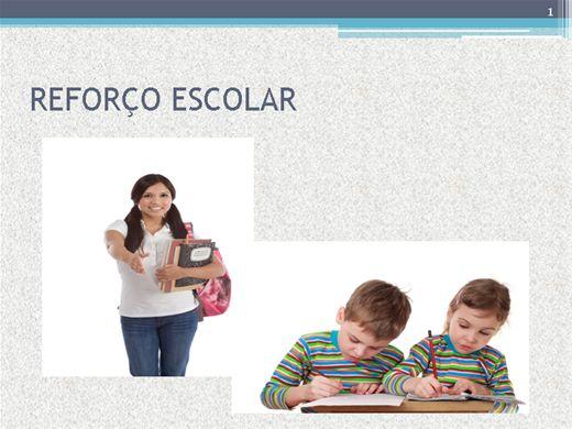 Curso Online de Reforço Escolar