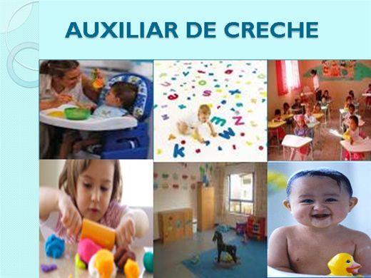 Curso Online de Auxiliar de Creche