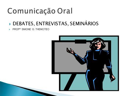 Curso Online de COMUNICAÇÃO ORAL
