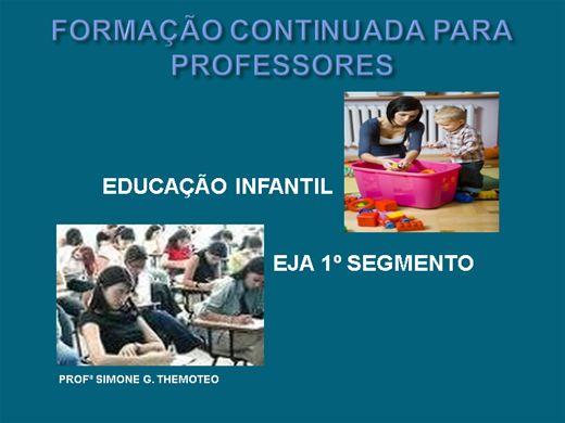 Curso Online de Formação Continuada Para Professores: Ed. Infantil e EJA