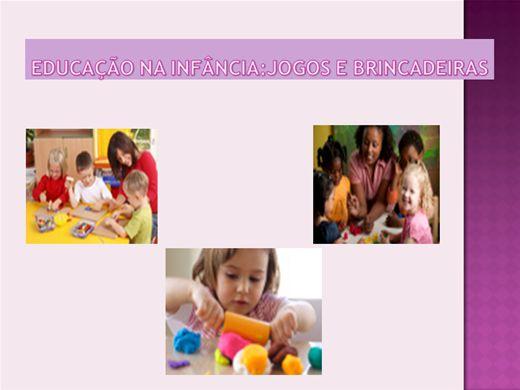 Curso Online de Educação na Infância: Jogos e Brincadeiras