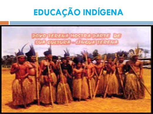 Curso Online de EDUCAÇÃO INDÍGENA