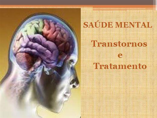 Curso Online de SAÚDE MENTAL: Transtornos e Tratamento