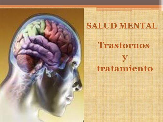 Curso Online de SALUD MENTAL: Trastornos y tratamiento