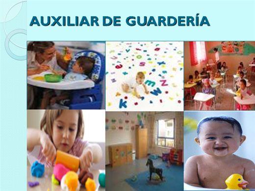 Curso Online de AUXILIAR DE GUARDERÍA