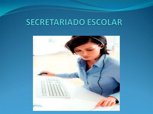 Curso Online de SECRETARIADO ESCOLAR