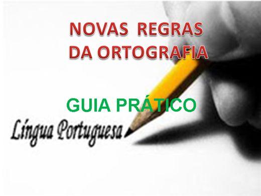 Curso Online de Novas Regras da Ortografia