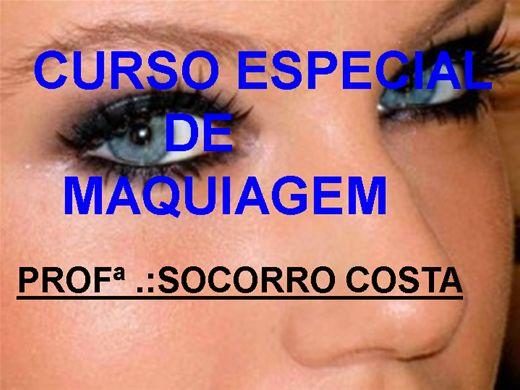Curso Online de CURSO ESPECIAL DE MAQUIAGEM