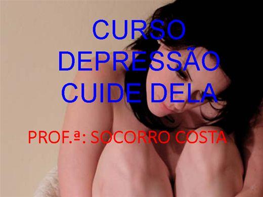 Curso Online de CURSO DEPRESSÃO CUIDE DELA