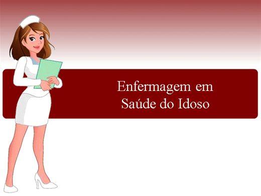Curso Online de Enfermagem em Saúde do Idoso