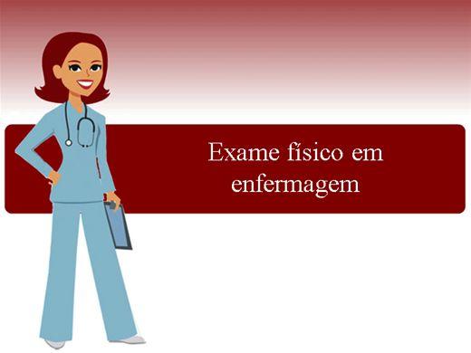 Curso Online de Exame físico em enfermagem