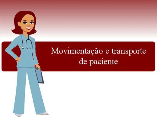 Curso Online de Movimentação e transporte do paciente