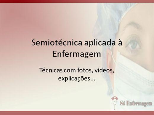 Curso Online de Semiotécnica aplicada à Enfermagem