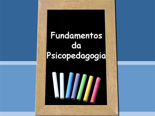 Curso Online de Fundamentos da Psicopedagogia